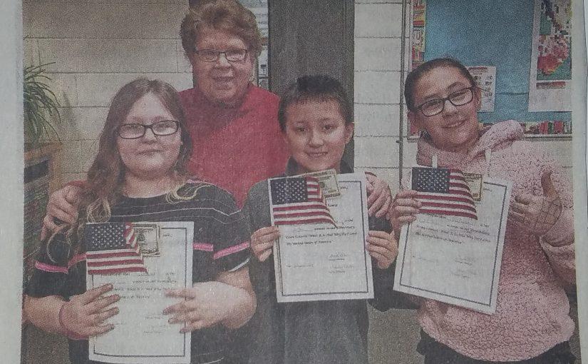 Woodside Essay Winners